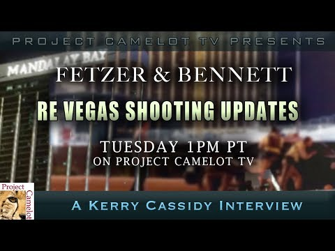 VEGAS UPDATE DR. JAMES FETZER AND SCOTT BENNETT