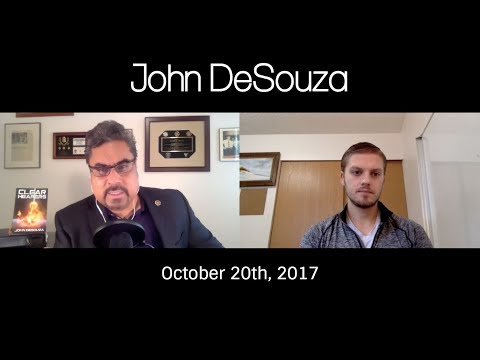 Interview w/ ex-FBI John DeSouza on Las Vegas, CA Fires, Tom Delonge & Paranormal Investigations