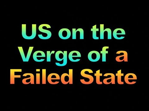 US on the Verge of a Failed State, 1858