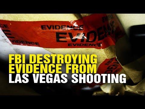 FBI destroying evidence of Las Vegas massacre