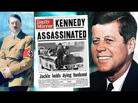 THE VEIL HAS LIFTED! DECLASSIFIED FILES SHOW GOVERNMENT KILLED JFK, PROTECTED HITLER