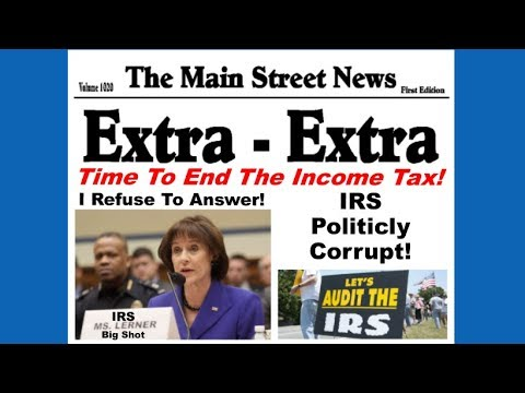 End The Income Tax