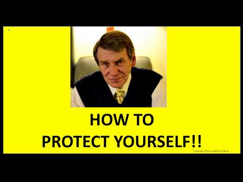 HOW TO PROTECT YOURSELF!