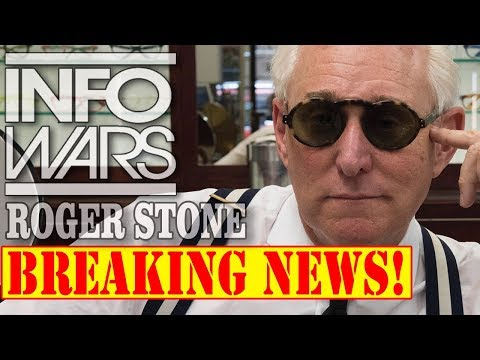 ROGER STONE, BREAKING NEWS! 11/8/17 ALEX JONES INFOWARS