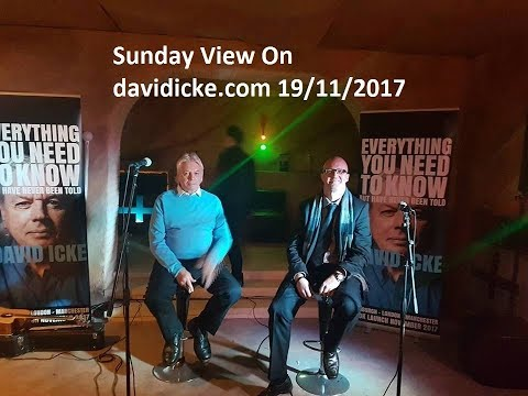 Sunday View With Richie Allen & David Icke For Sunday November 19th 2017