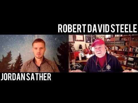 Interview w/ ex-CIA Robert David Steele - Q, NSA, Zionism, #GoogleGestapo & #UNRIG