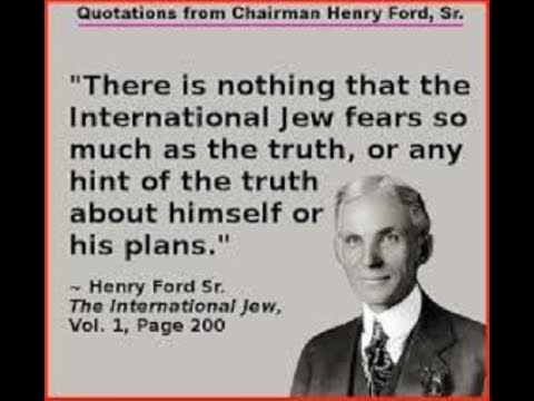 The International Jew, by Henry Ford (Ch.28 - 29)