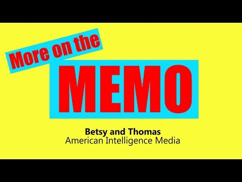 More on the Memo