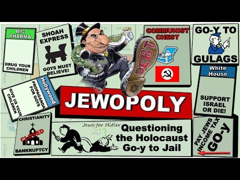Jewopoly - Jews, Drugs, Monopoly and the Bible