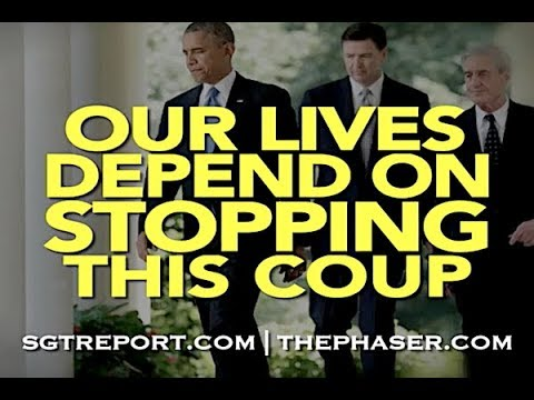 YOUR LIFE DEPENDS ON STOPPING THIS COUP -- HARLEY SCHLANGER