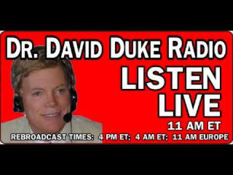 Dr. David Duke Radio Show (16th of April 2018)