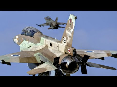 Israeli Air Strikes on Iranian Soldiers in Syria