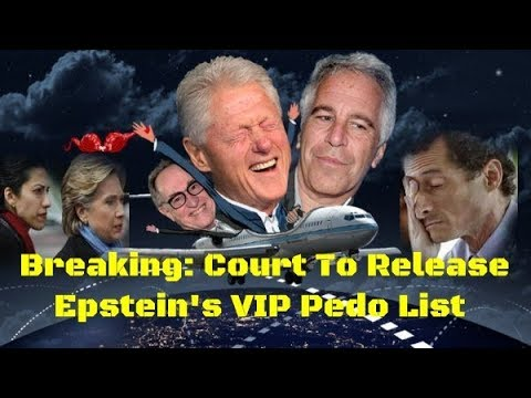 Breaking: Court To Release Epstein's VIP Pedo List