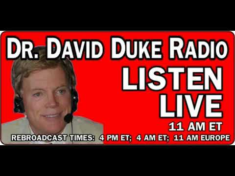 David Duke Show June 1st, 2018 with guest Mark Collett