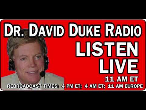 David Duke Show June 13, 2018 with guest Dr Hill