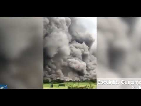 Mt. Fuego Explodes/75 Killed/Equatorial Heating/Earth's Core
