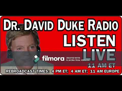 David Duke Show July 25th, 2018 with guest Pastor Dankof