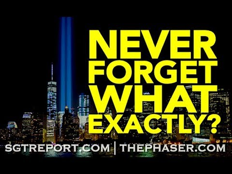 'NEVER FORGET', WHAT EXACTLY?