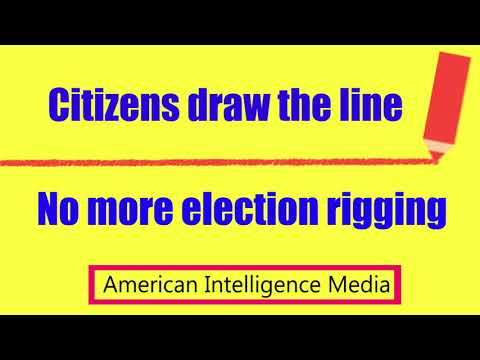 CITIZENS DEMAND - No more election rigging, meddling, and/or interference