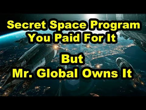 Mr Global Ditches US for Asia, You Funded Secret Space Program For Mr Global w/C.A. Fitts (2of2)