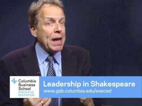 Leadership in Shakespeare