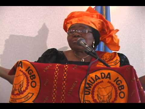 "Dr. ""Lolo"" Kate Ezeofor's Official Launch of UMUADA IGBO at UN WOMEN, New York 18 August 2011"