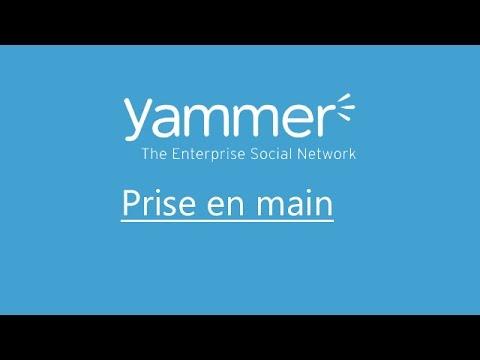 Prise en main Yammer