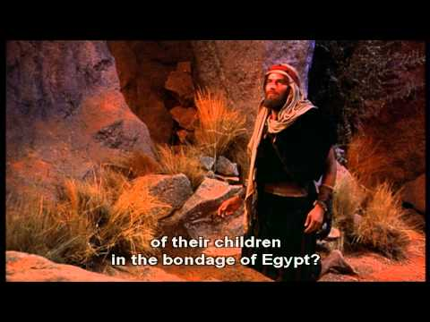 The Ten Commandments  Moses And The Burning Bush.wmv