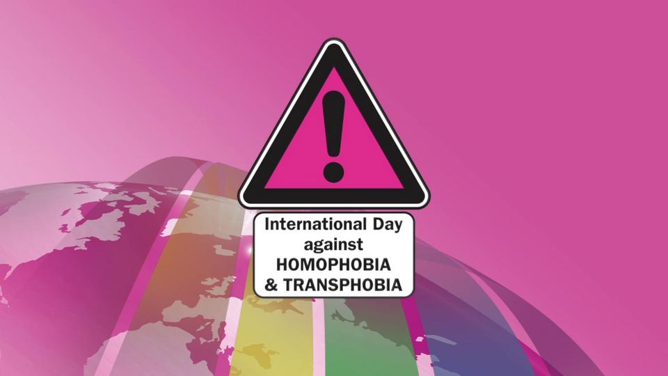 International Day against Homophobia and Transphobia (IDAHO) - the official global video (Donate)