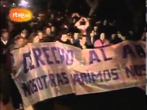 27 años desde que se despenalizó el aborto en España