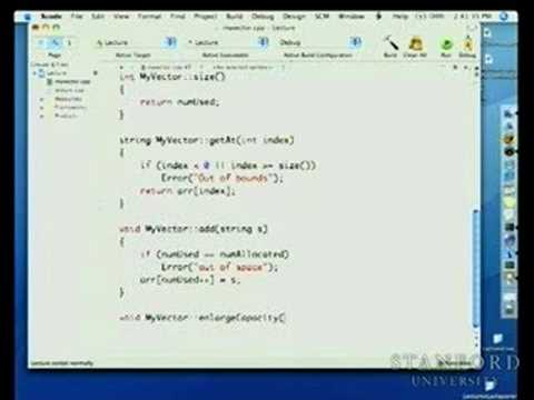 Lecture 18 | Programming Abstractions (Stanford)