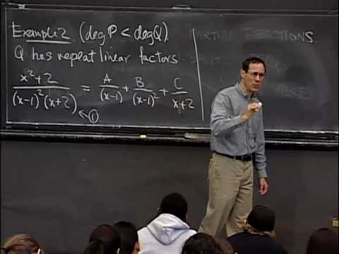 Lec 29 | MIT 18.01 Single Variable Calculus, Fall 2007
