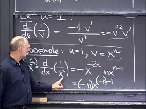Lec 4   MIT 18.01 Single Variable Calculus, Fall 2007