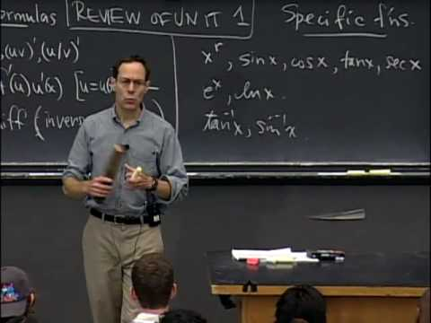 Lec 7   MIT 18.01 Single Variable Calculus, Fall 2007