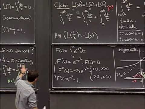 Lec 21 | MIT 18.01 Single Variable Calculus, Fall 2007