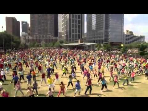 Easter Flash Mob Celebrates The Resurrection -