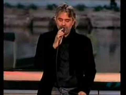 "Andrea Bocelli ""Besame Mucho"" Live on stage in Tuscany"