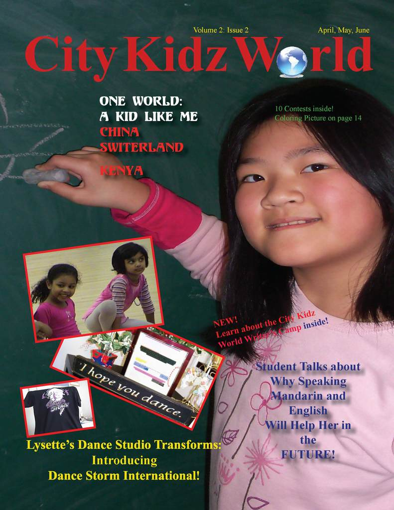 City Kidz World magazine - Teach all the children of the World