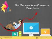 Explainer Video Company in Delhi NCR, India| Explainer Filmmakers