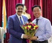 Vietnam Congratulated chancellor Sandeep Marwah