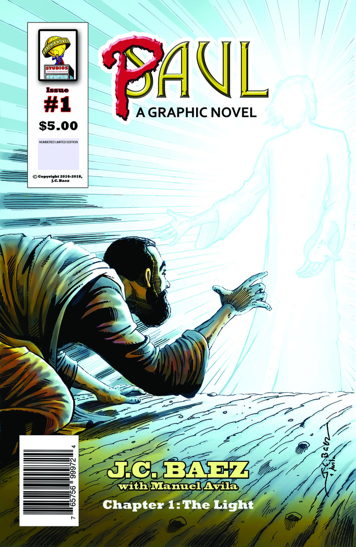 Cover of Paul: A Graphic Novel, issue #1