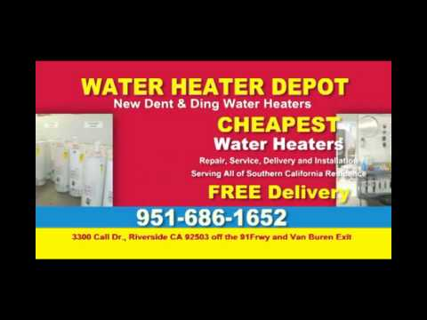 Water Heater Installation Riverside