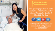 Best Eye Surgery Clinics in Delhi India for a US Patient made her pleased & happy for quality & affordable eye care