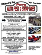 10th Annual Perry Car/Bike Show and Swap Meet -Perry, GA