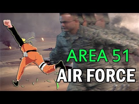 The Air Force Had a Briefing on the Plan to Storm Area 51