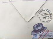 Received Mail Art From Richard Baudet
