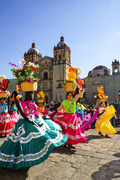 Life in Oaxaca Calendas outside Santo Domingo