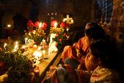 Familia, Dia de los Muertos, Oaxaca