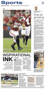 Rochester Post Bulletin sports cover 7/23/2019
