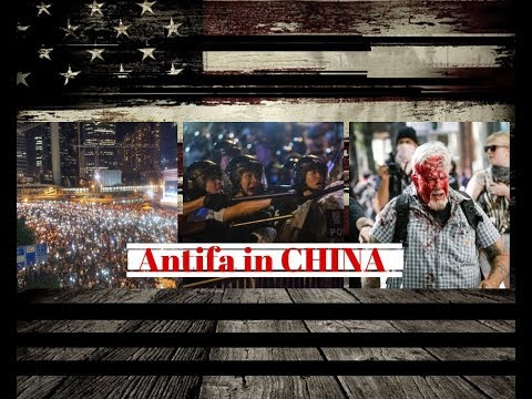 China sends Antifa to attack Hong Kong protesters.
